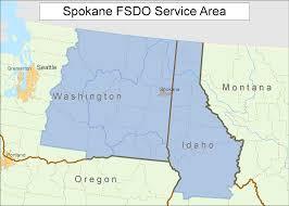 Spokane Wa Map Faa Gov Mobile