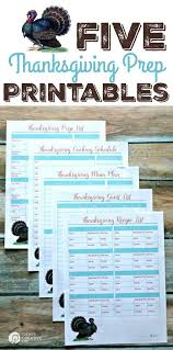 thanksgiving prep printables thanksgiving menu guest list and