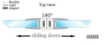 magnetic shower door seal magnetic seal strip magnetic sealing