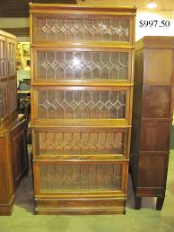 Bookshelf Glass Doors Furniture Glass Bookshelves With Barrister Bookcase