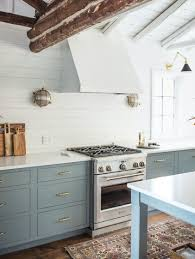 blue kitchen cabinets in cabin 12 no fail classic kitchen cabinet colors laurel home