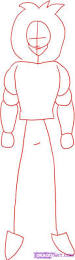 draw goku super saiyan 4 step step dragon ball