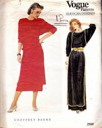80s prom dress size 12 geoffrey beene vintage bat wing maxi dress pattern 1980s vogue