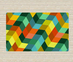 Modern Colorful Rugs Geometric Rug Modern Rugs Colorful Rugs Affordable Rugs