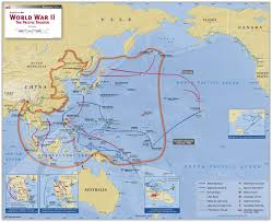 World War 2 Europe Map by World War Ii The Pacific Theater Map Maps Com