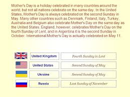 s day is a celebrated in many countries around the