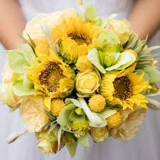 sunflower bouquet sunflower wedding bouquet afloral