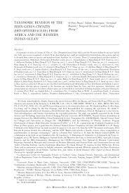 taxonomic revision of the fern genus ctenitis dryopteridaceae