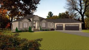 Ranch Style House Plans With Walkout Basement Executive Bungalow House Plans Home Decorating Interior Design