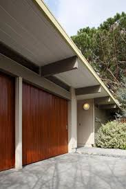 garage doors secret design studio knows mid century modern