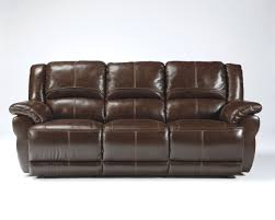 brown leather reclining sofa lenoris coffee leather reclining