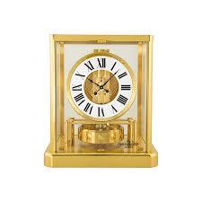 jaeger lecoultre atmos classique gold coated gilt brass desk clock