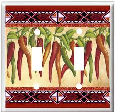 chili pepper home decor southwest chili peppers 10 light switch cover plate or outlet