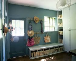 Mudroom Bench With Storage Mudroom Bench With Storage Eclectic Laundry Room Cloth And Kind