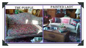 using chalk paint to paint your couch or wing back chair the