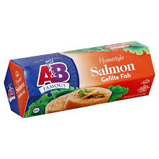 rokeach gefilte fish a b gefilte fish homestyle salmon from fairway market