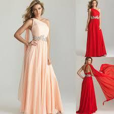 aliexpress com buy one shoulder diamond red pink long sash prom