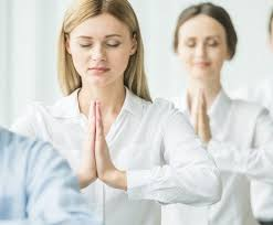 Yoga At The Office Desk Take A Yoga Break At Your Office Desk Women Fitness