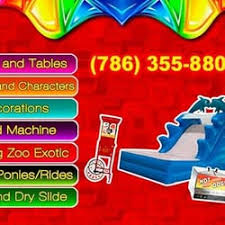 miami party rental party rentals miami party supplies 15448 sw 62nd st