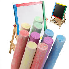 45pcs mixed colours chalk sticks set for blackboard chalkboard