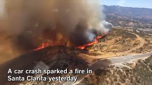 Wild Fires In Bc Right Now by Firefighters Make Progress On Fast Moving Santa Clarita Blaze 14