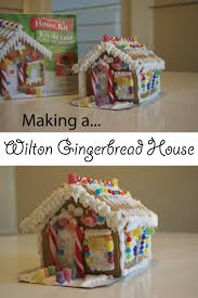 making a wilton gingerbread house little fish