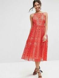 chi chi london chi chi london high neck premium lace midi dress