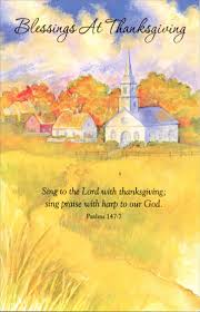 church path religious thanksgiving card by freedom greetings