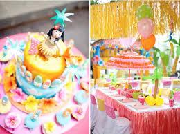 Hawaiian Birthday Party Idea for Girls Aloha