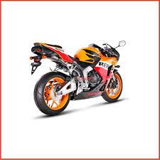cbr 600 motorcycle akrapovič exhaust system evolution line titanium honda cbr 600 rr