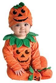 Newborn Boy Halloween Costume Amazon Rubie U0027s Costume Halloween Lil Pumpkin Jumper