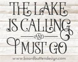 lake quote svg etsy