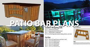 Diy Outdoor Bar Table Patio Bar Plans Concrete Counter And Cedar Base