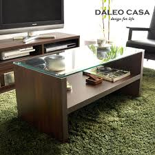 Glass Table For Living Room Nordic Ikea Style Wooden Furniture Living Room Coffee Table