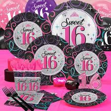 sweet 16 party supplies sweet 16 sixteen birthday party supplies party supplies canada