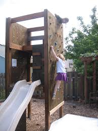 outside exterior home climbing walls
