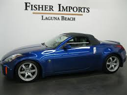 blue nissan 350z pre owned 2005 nissan 350z in laguna beach ca serving