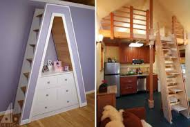 Space Saving Stairs Design 27 Space Saving Tricks And Techniques For Tiny Houses Webecoist