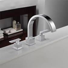 Bathtub Corner Water Stopper Bathroom Faucets For Your Sink Shower Head And Tub The Home Depot