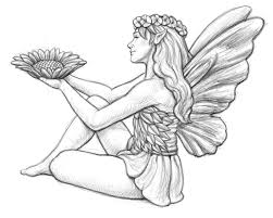 fairies garden colouring pages gekimoe u2022 58365