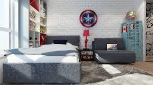 deco chambre garcon heros chambre pour garçon thème héros marvel