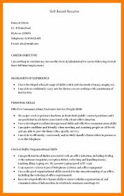 Janitor Resume Examples by 6 Skills Based Resume Templates Janitor Resume