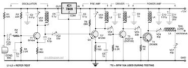 fm transmitter circuit diagram pdf circuit diagram images