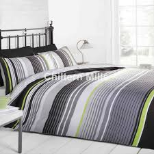 cambridge mono stripe duvet cover set chiltern mills
