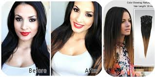 hair extensions for short hair before and after before and after hair extensions short to long before after