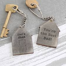 Gift For Dad by Personalised Fathers Day Gift For Dad Keyring By Bombus