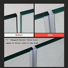 Sealing Glass Shower Doors Huaha Frameless Shower Door Seal Sweep For 3 8 Glass 10