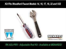 Woodford 17 Faucet Woodford Model Adjustable Rod With Pressure Relief Valve Prv To