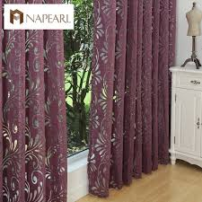 multiple colors ready made semi blackout curtains blind panel