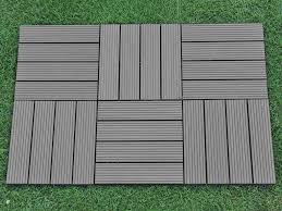 Composite Patio Pavers by Amazon Com Abba Patio Interlocking Flooring Decking Tiles Outdoor